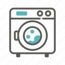 clean, clothing, laundry, machine, wash, washing, washing machine icon