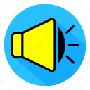audio, color, full, icon, sound, speaker icon