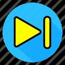 audio, color, full, icon, media, play, sound icon