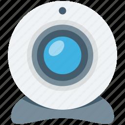 computer camera, video chatting, video conference, web camera, webcam icon