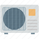 ac outdoor, air conditioner, air conditioning unit, electronics, outdoor unit