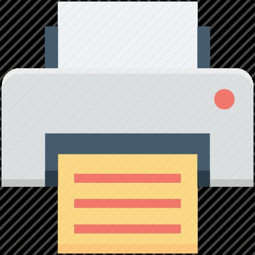 fax, inkjet printer, laser printers, printer, printing machine icon