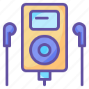 device, music, technology icon