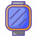 device, electronic, multimedia, smartwatch, technology icon