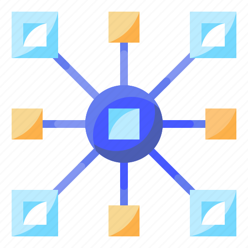 Connector, electronics, media, network, share, social icon - Download on Iconfinder