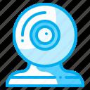 cam, electronics, technology, videocam, webcam icon