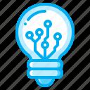 business, creativity, electronics, lightbulb icon