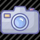 camera, electronic camera, gadget, photography camera, photoshoot camera icon