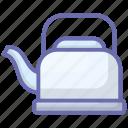 boiler, coffee kettle, home appliance, kitchen appliance, tea kettle icon