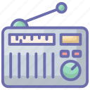 electronics transmission, radio, radio set, radionics, radiotelegraph icon