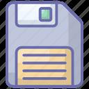 bootstrap, data disk, floppy, floppy disc, hardware icon