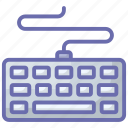 computer board, computer hardware, control key, keyboard, typing device icon