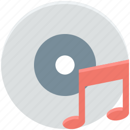 cd, compact disk, dvd, media, music cd icon