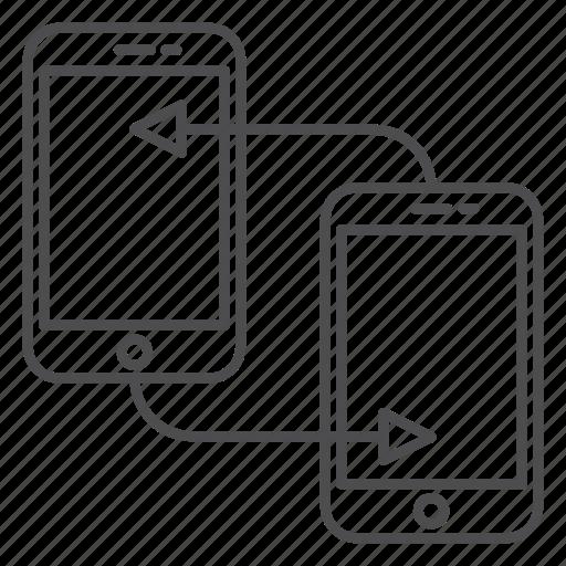 data, file, server, storage, sync, transfer icon