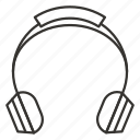audio, headphone, headphones, music, sound