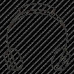 audio, headphone, headphones, music, sound icon