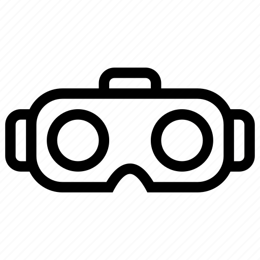 augmented reality, oculus, virtual reality, virtual reality goggles, vr icon