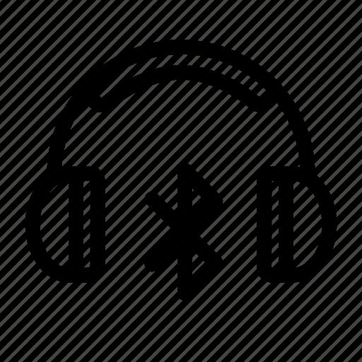 audio, bluetooth headphones, headphones, music, wireless headphones icon