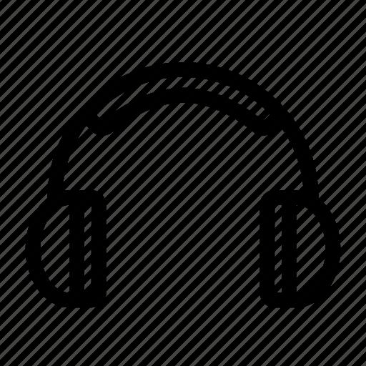 audio, earphones, headphones, music, sound icon