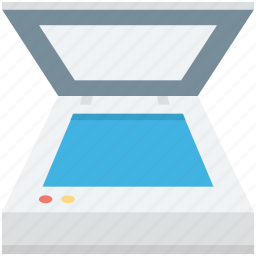 electronics, image scanner, scanner, scanner machine, scanning device icon