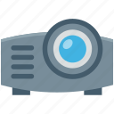 ceremonial, movie projector, multimedia, projector, video projector icon
