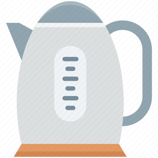 cordless kettle, electric kettle, electricals, kitchen appliance, tea maker icon