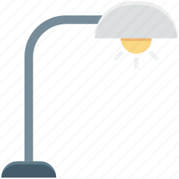anglepoise, anglepoise lamp, arc lamp, desk light, lamp icon