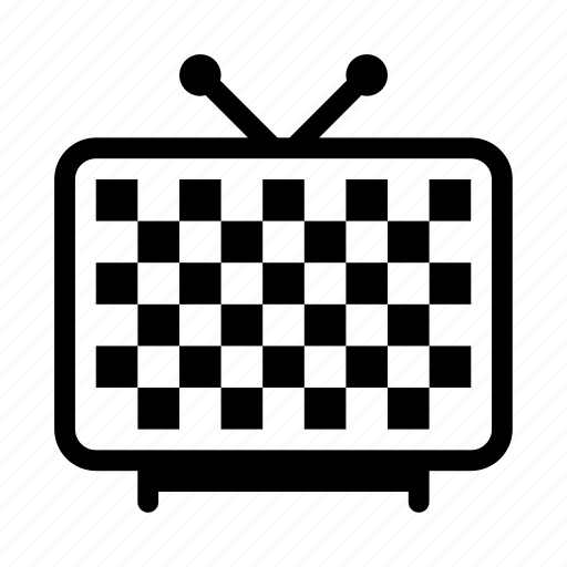 channel, display, monitor, screen, television icon