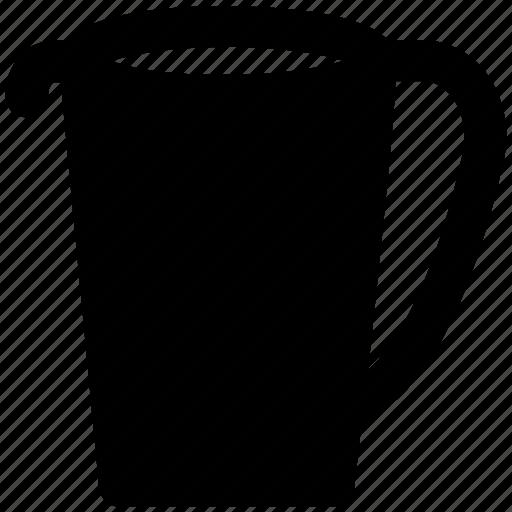 beaker, blender jug, jug, measuring jug, pitcher, water jug icon