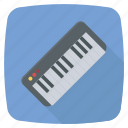 casio, keyboard, keyboard piano, music, piano icon icon