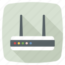 modem, router, signal, wifi modem, wifi router icon icon