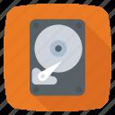 disk, hard drive, hard drive disk, hd icon icon