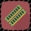 hardware, memory, ram icon icon