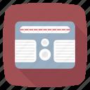 device, electronic, equipment, fm radio, media, radio icon icon