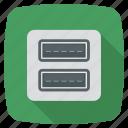 usb connector, usb icon, usb plug, usb poart icon