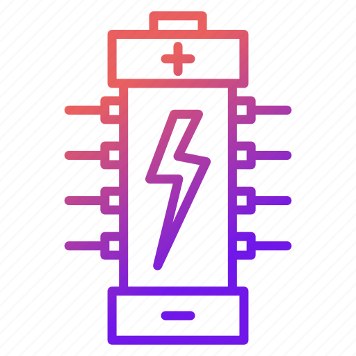battery, electricity, electronics, energy, power icon
