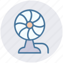 charging fan, electric fan, fan, pedestal fan, ventilator fan icon