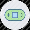 control pad, game console, gamepad, joypad, psp