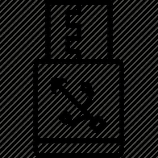 cord, data, flash, jack, usb icon