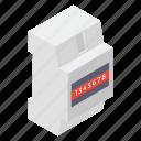 breaker board, breaker button, breaker panel, circuit breaker, electricity distribution icon