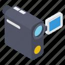 camcorder, digital camera, handycam, polaroid, video camera, video shooting