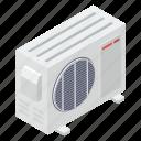 ac fan, ac outdoor, ac supply, ac unit, ac ventilation icon