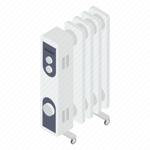 Central heating system, electronic device, fan heater, heating fan, output device icon - Download on Iconfinder