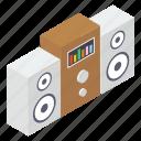 loudspeaker, output device, sound system, voice speaker, volume speaker icon