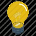 bulb, electric bulb, energy bulb, light bulb, luminous bulb icon