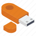 data stick, disk device, flash, flash drive, universal serial bus, usb icon