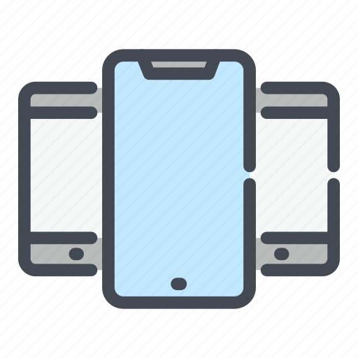 Device, gadget, iphone, mobile, phone, smartphone, telephone icon - Download on Iconfinder