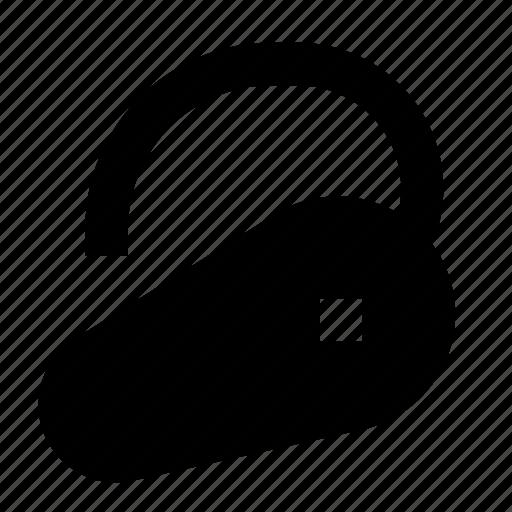 Bluetooth, ear, earpiece, headset, hook, wireless icon - Download on Iconfinder