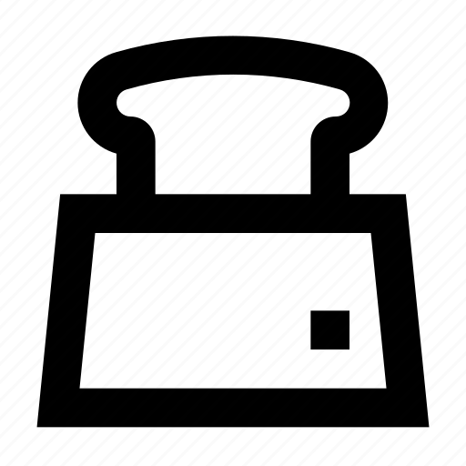 Electronics, machine, sandwich, slice, toast, toaster icon - Download on Iconfinder