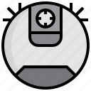 robot, vacuum, devices, electronics, gadget, tools icon
